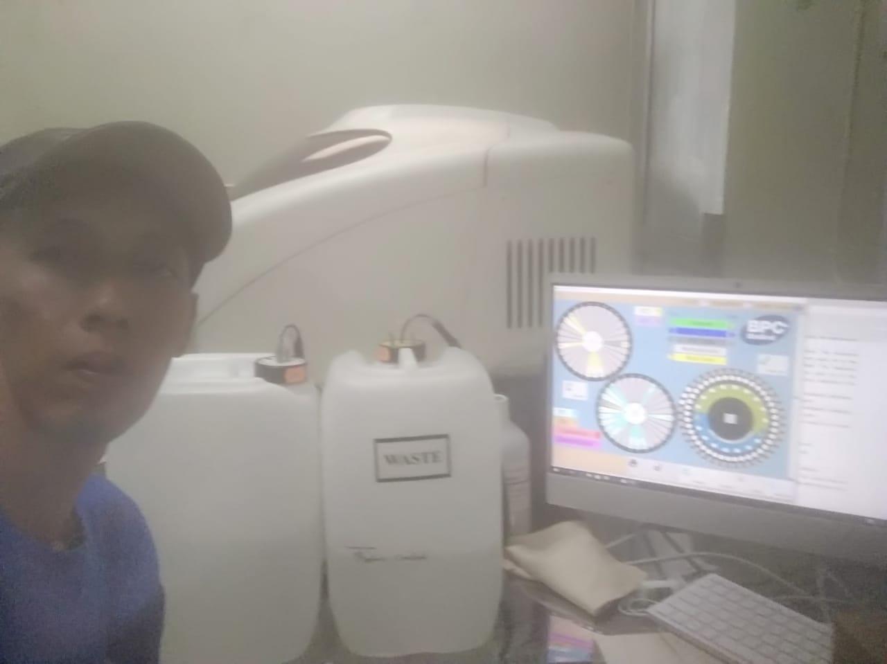 Perbaikan Automatic Chemistry Analyzer BPC BIOSED Global 4500DR/7500DR