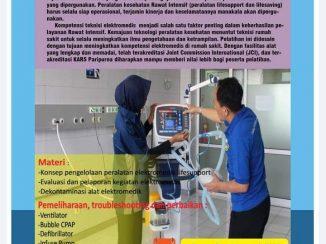 Pelatihan Elektromedik Life Support bagi Elektromedis angkatan VIII