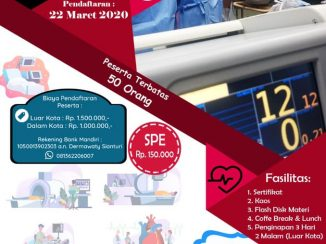 Workshop Internasional Pemeliharaan & Troubleshooting Peralatan Elektromedik Serta Peralatan Elektromedik Radiasi Sesuai Dengan Standar Kompetensi Elektromedis
