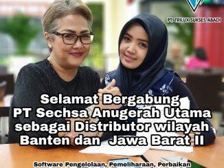 Selamat Bergabung PT. Sechsa Anugerah Utama sebagai Distributor kami di wilayah Banten dan Jawa Barat II